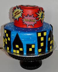 superhero birthday cake cakecentral com