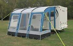 Awnings For Caravan Bedroom Annexe For Sunncamp Strand 390 Lightweight Porch Awning