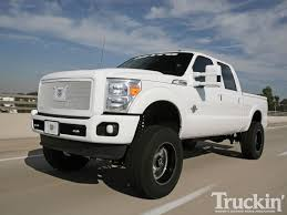 ford lifted 2011 ford f 250 super duty truckin u0027 tech truckin u0027 magazine