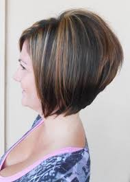2014 short stacked bob haircut for women over 40 popular haircuts