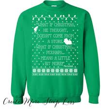 grinch christmas sweater shop grinch sweater on wanelo
