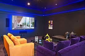 Home Theatre Design Los Angeles Santa Barbara Media Room Eclectic Home Theater Los Angeles