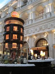 casual italian fine dining restaurant interior design of otto