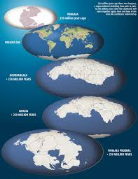 Map Of The World With Continents by 611 Our One Continent World Pangea Political Big Think