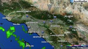 California Weather Map Southern California Weather Forecast Los Angeles Orange County