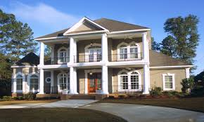 Colonial House Designs Southern Plantation House Plans Luxury Colonial 055s 0001 Flo