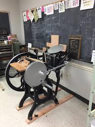 letter press the letterpress studio department of ttu