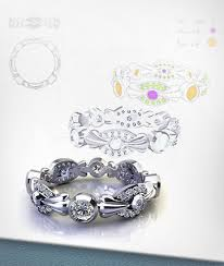 Custom Wedding Rings by Custom Wedding Rings Designing Custom Wedding Rings