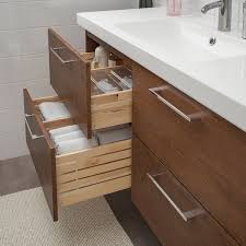 ikea kitchen sink cabinet drawers godmorgon odensvik sink cabinet with 4 drawers brown stained ash effect dalskär faucet 48 3 8x19 1 4x25 1 4