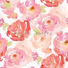 Shabby Chic Rose by And Red Watercolor Roses Pattern Shabby Chic Rose Background