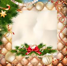 christmas greeting cards christmas ornate background with greeting cards vector 05 welovesolo