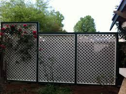 outdoor outdoor privacy screen ideas privacy lattice deck privacy