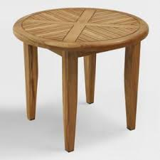Round Teak Table And Chairs Teak Wood Furniture World Market