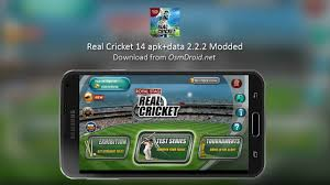 game mod apk data obb real cricket 14 apk data obb 2 2 2 mod unlimited coin adfree