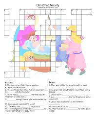 christmas crossword puzzle printable for 2015