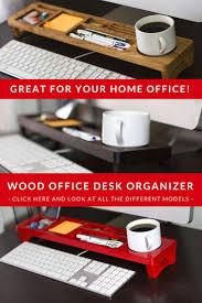 Wood Desk Organizers And Accessories by Best 25 Desktop Shelf Ideas On Pinterest Cubicle Shelves