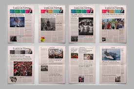 12 newspaper front page templates u2013 free sample example format