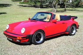 porsche cabriolet turbo sold porsche 930 turbo cabriolet auctions lot 23 shannons