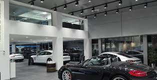 porsche dealership projects u2013 maslighting led