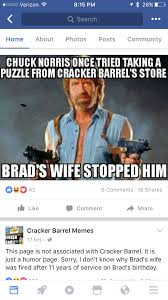 Memes For Fb - there s a cracker barrel memes fb page that has caught wind of