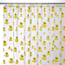 Baby Bathroom Shower Curtains by Interdesign Ducks Eva Shower Curtain Duck Bathroom And House