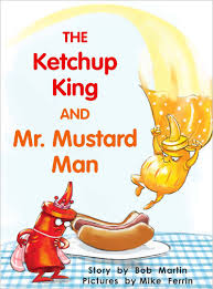 mr mustard the ketchup king and mr mustard level h 14 rr books