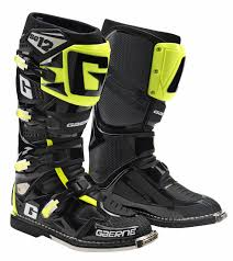 tcx motocross boots gaerne sg12 motocross boots black flo yellow super mx
