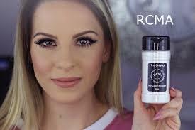 Bedak Rcma rcma no color powder review changing