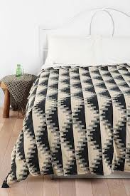 Geometric Duvet Cover Thinking Triangle Notch Duvet Cover Urban Outfitters