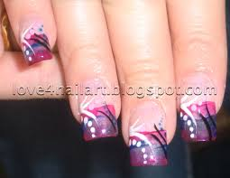 really cool acrylic nail designs easy nail art designs and ideas