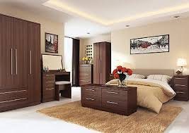 Wenge Bedroom Furniture Noche Walnut Finish Bedroom Range Welcome Furniture