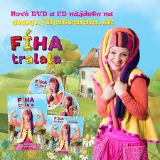 fiha tralala dvd nové cd dvd fíha tralala cvičíme od mala sdeťmi