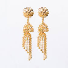 gold ear ring image gold earring at rs 31900 set s gold earrings id 8149415088