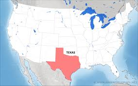 State Map Of Texas by Where Is Texas Located On The Map