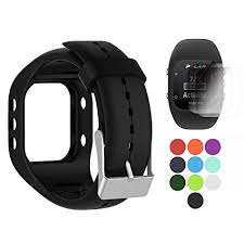 silicone strap bracelet images Tusita band for polar a300 with screen protector jpg