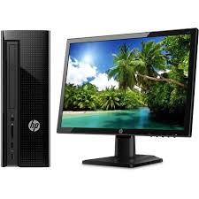 ordinateur de bureau pas cher d occasion pc hp 20 de bureau d occasion achat vente pas cher