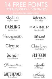 What Font To Use On Resume Best 25 Different Letter Fonts Ideas Only On Pinterest