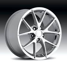 chrome corvette wheels spyder wheel chrome