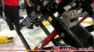 challenger dx 77 7 700 lb scissor lift youtube