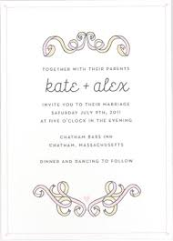 wedding invitation sles etiquette 101 how to properly word your wedding invitations
