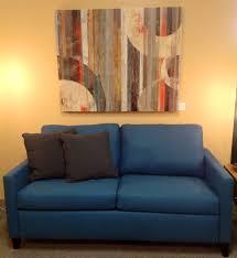 American Sleeper Sofa Hannah Comfort Sleeper Adams Teal Available At Scanhome