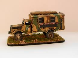 german opel blitz truck little legions battlegroup kursk support troops