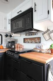 Rustic Modern Kitchen by Tiny Kitchen Remodel The Reveal Of Our Rv Kitchen Renovation