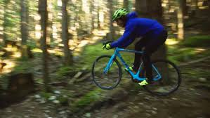 yoann barelli shreds a downhill mtb track on a cyclocross bike