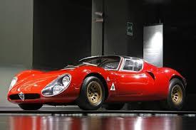 alfa romeo red racing car side view wallpaper cars wallpapers