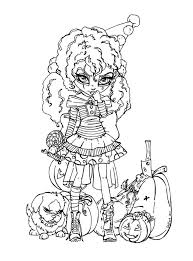 177 haunted halloween coloring book images
