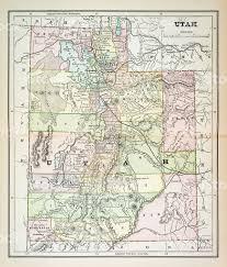 america map utah map of utah 1883 stock vector 478183040 istock