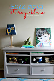 ginger snap crafts boy u0027s room storage ideas plus a crafty surprise