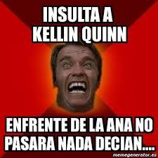 Kellin Quinn Meme - meme arnold insulta a kellin quinn enfrente de la ana no pasara