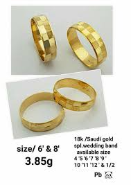 saudi gold wedding ring 18k 21k saudi gold wedding ring ring